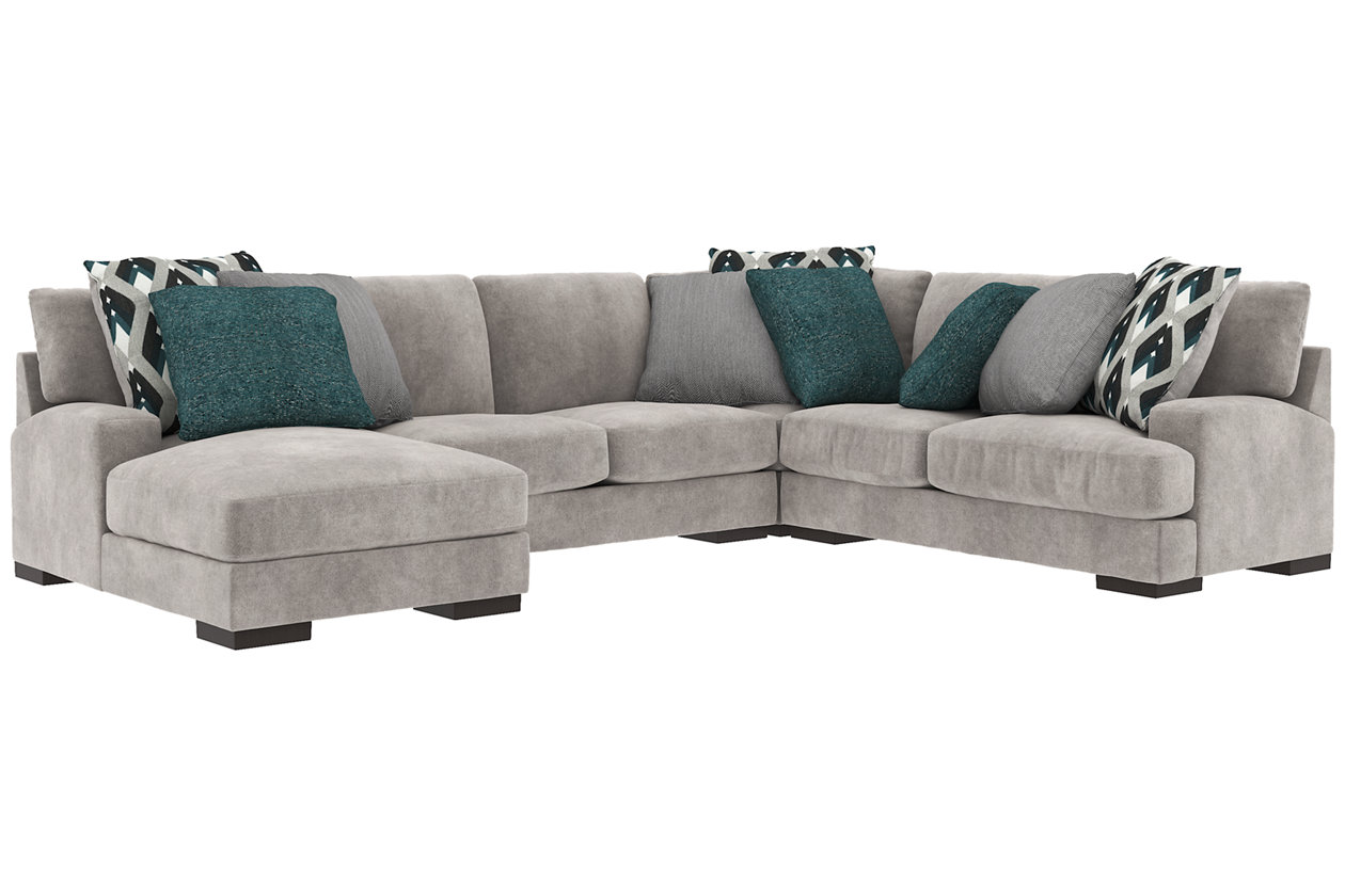 Bardarson 4-Piece Sectional with Chaise | Ashley Furniture ...