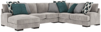 Bardarson 4 Piece Sectional With Chaise Ashley Furniture Homestore