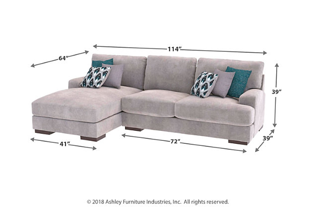 Bardarson 2-Piece Sectional with Ottoman, , large