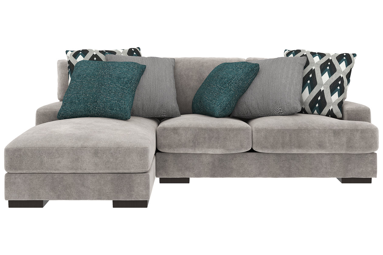 Peachy Bardarson 2 Piece Sectional With Chaise Ashley Furniture Pabps2019 Chair Design Images Pabps2019Com