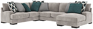 Bardarson 4-Piece Sectional with Chaise, , large