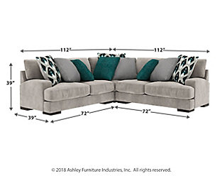 Bardarson 3-Piece Sectional, , large