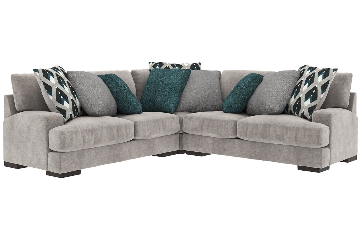 Groovy Bardarson 3 Piece Sectional Ashley Furniture Homestore Pdpeps Interior Chair Design Pdpepsorg