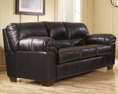 Ashley Commando Sofa, Black