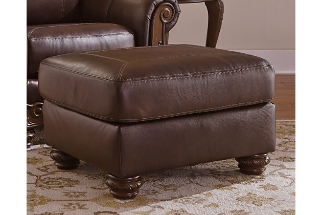 Mellwood Ottoman by Ashley HomeStore, Brown