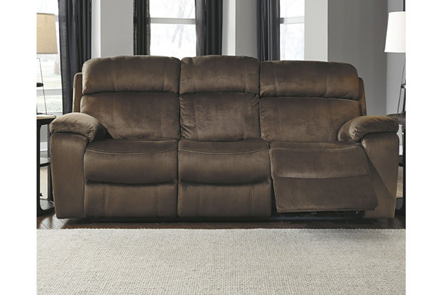 Uhland Power Reclining Sofa by Ashley HomeStore, Brown
