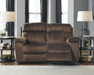 Reclining Loveseat Chocolate Power Product Photo 404