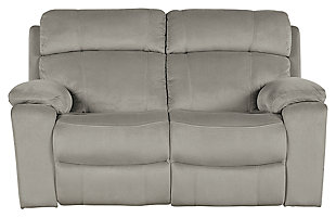 Uhland Power Reclining Loveseat, Granite, large
