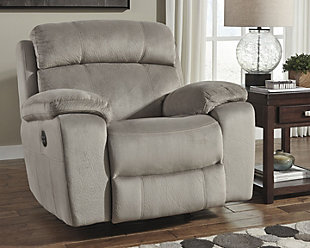 Uhland Power Recliner, Granite, rollover