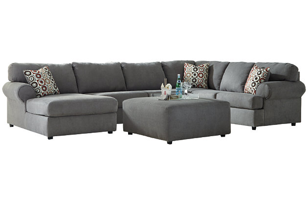 Jayceon 3-Piece Sectional with Ottoman, , large