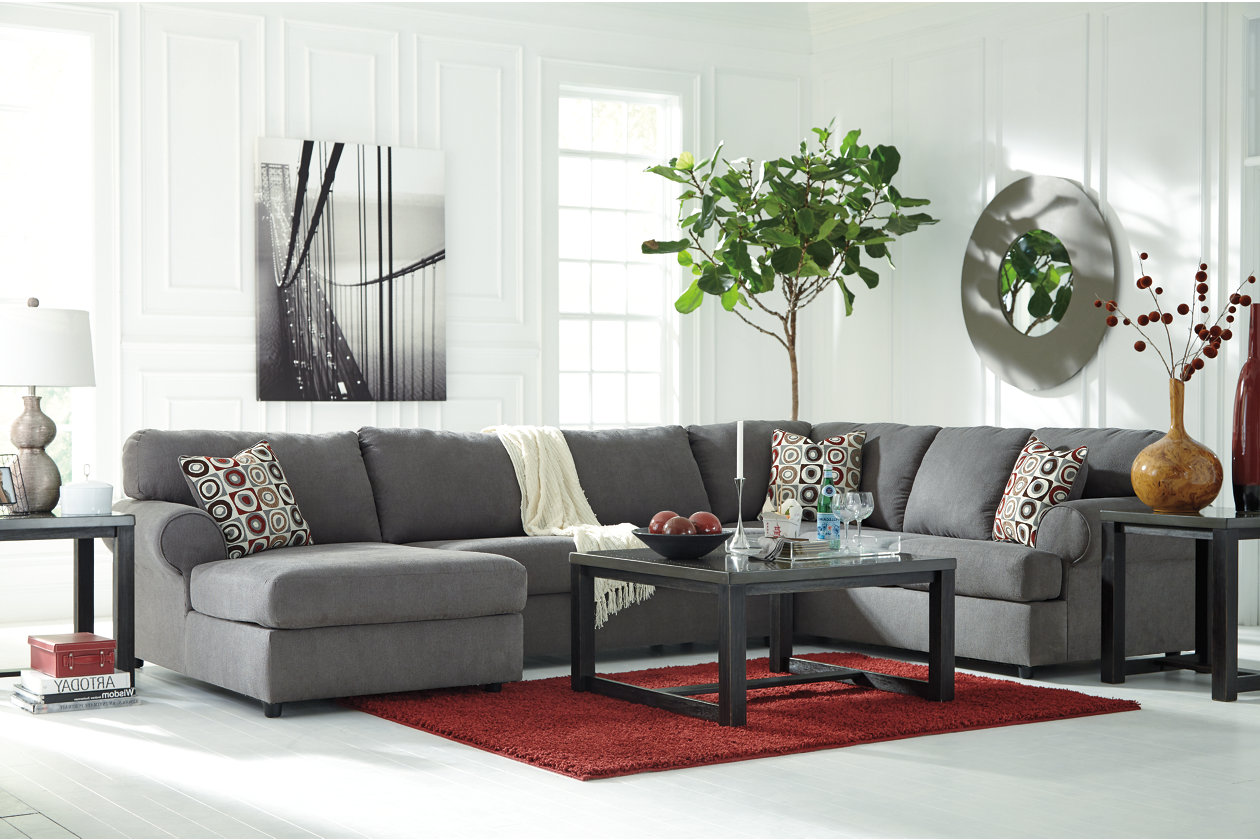 Super Jayceon 3 Piece Sectional With Chaise Ashley Homestore Inzonedesignstudio Interior Chair Design Inzonedesignstudiocom