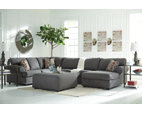 Steel Jayceon 3-Piece Sectional View 4