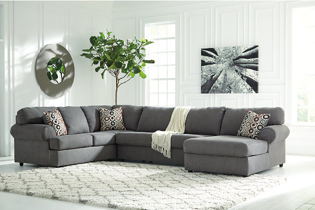 Jayceon 3 Piece Sectional Steel Large