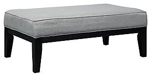 Gilmer Oversized Ottoman, , large