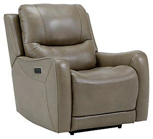 Galahad Power Recliner, Sandstone, large