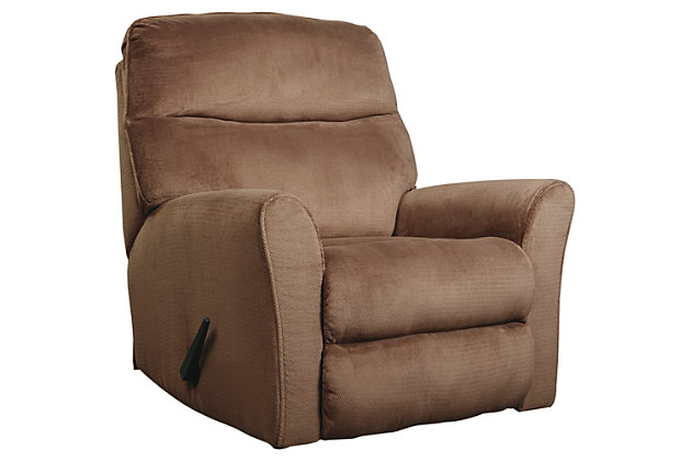 Cossette Recliner, Cocoa, large