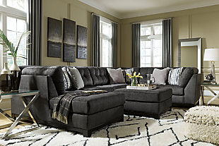 Reidshire 3-Piece Sectional with Ottoman, , large