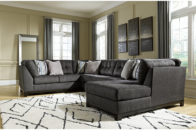 Reidshire 3 Piece Sectional Ashley Furniture Homestore