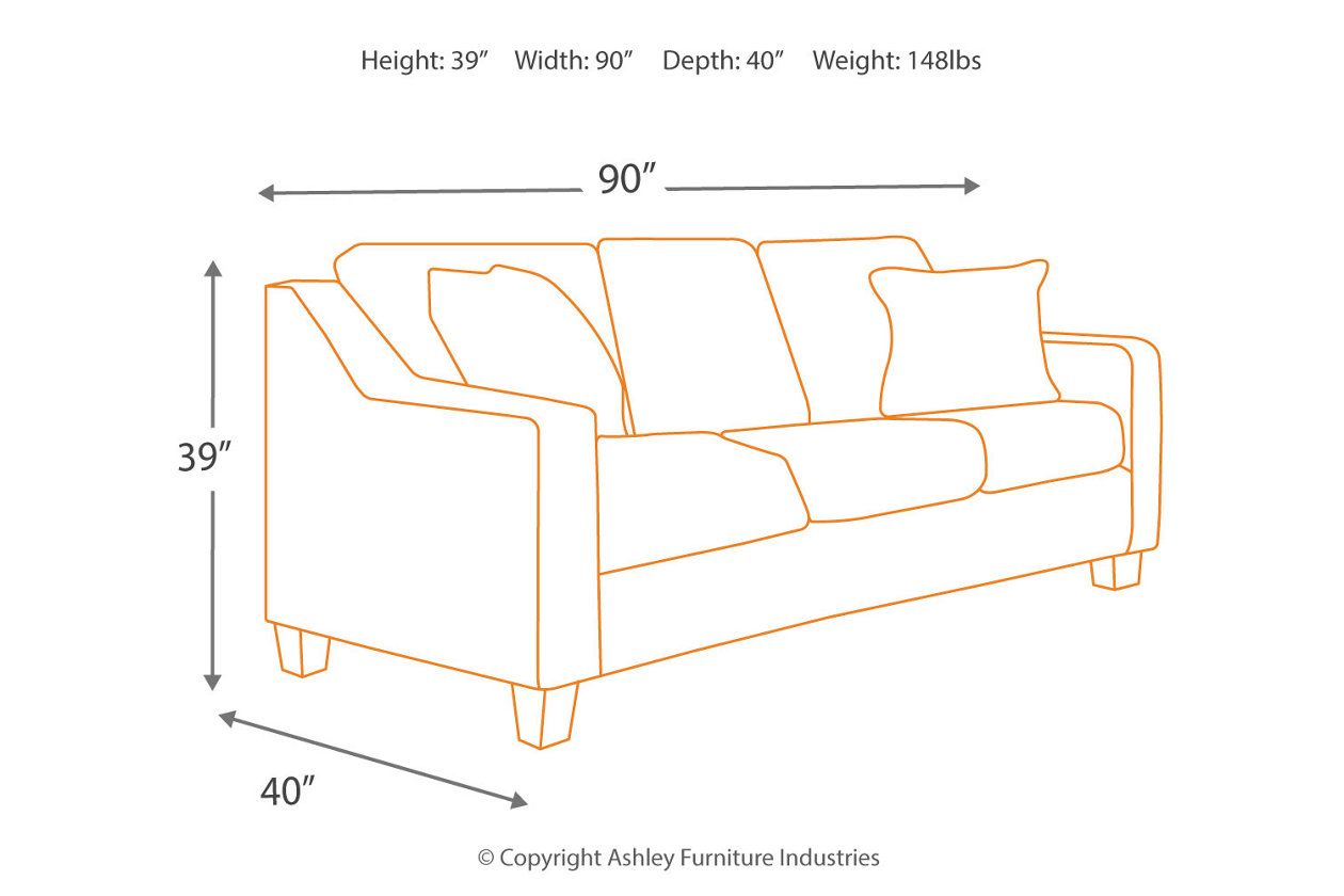 Incredible Crislyn Sofa Ashley Furniture Homestore Ncnpc Chair Design For Home Ncnpcorg