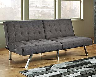 Sivley Flip Flop Armless Sofa, , rollover
