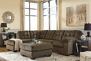 Accrington 2-Piece Sectional with Chaise and Sleeper, Earth, large