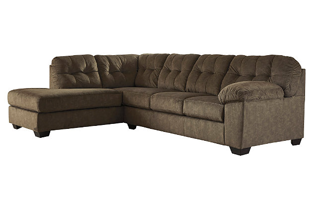 Accrington 2-Piece Sectional with Chaise, Earth, large