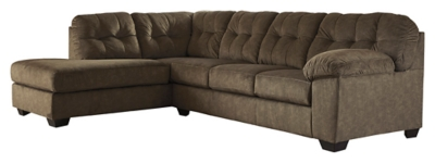 Accrington 2 Piece Sectional With Chaise Ashley Furniture Homestore