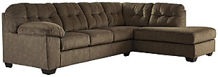 Accrington 2-Piece Sleeper Sectional with Chaise, Earth, large