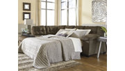 Accrington 2-Piece Sectional with Chaise and Sleeper, Earth, rollover