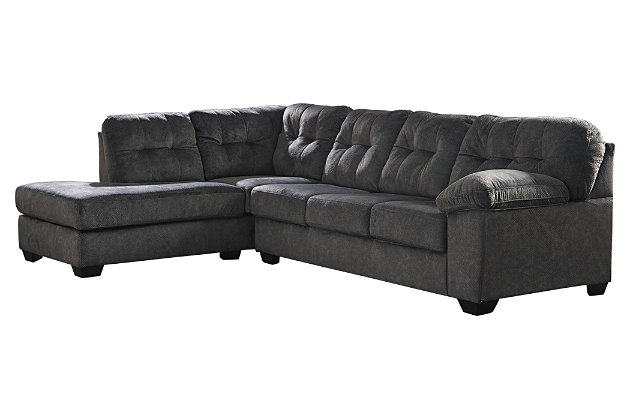 Accrington 2-Piece Sectional with Chaise, Granite, large