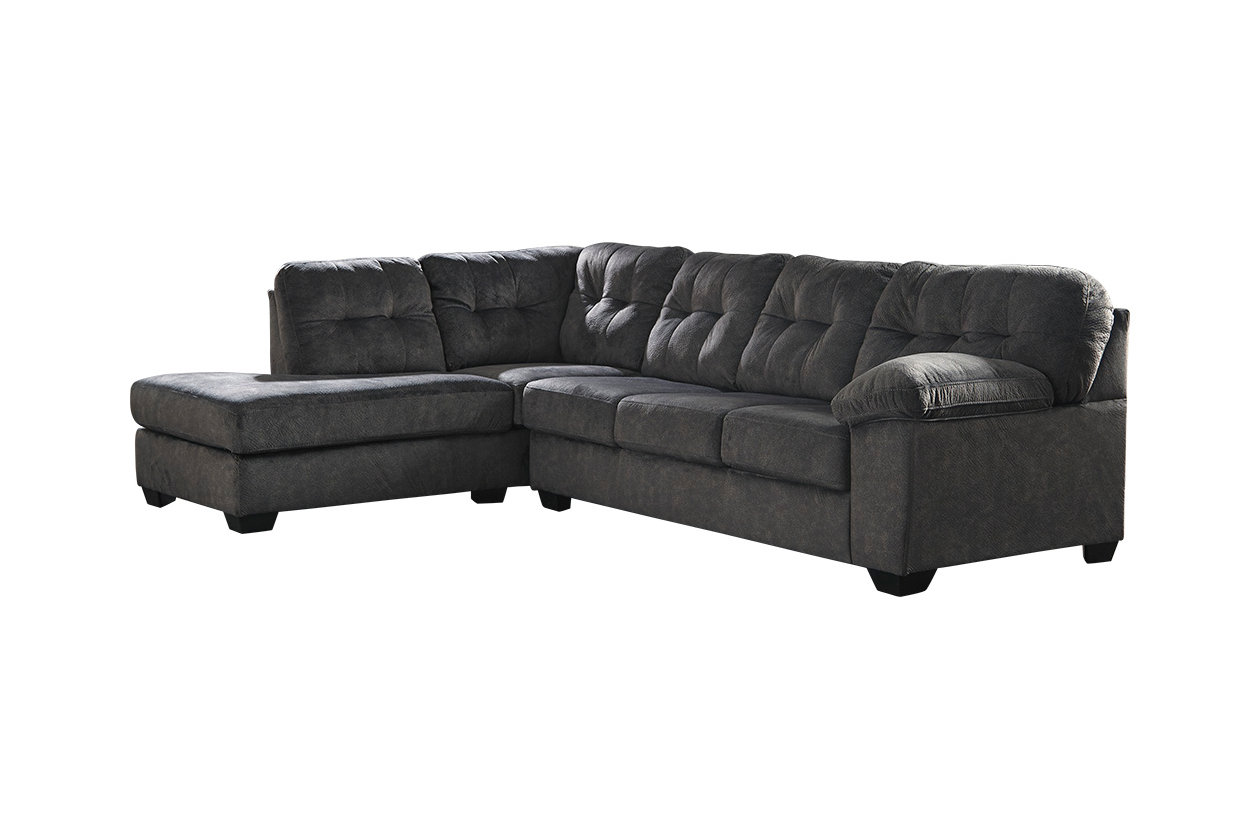 Surprising Accrington 2 Piece Sectional With Chaise And Sleeper Gmtry Best Dining Table And Chair Ideas Images Gmtryco
