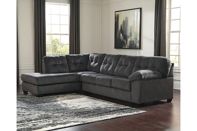 Wondrous Accrington 2 Piece Sectional With Chaise And Sleeper Inzonedesignstudio Interior Chair Design Inzonedesignstudiocom