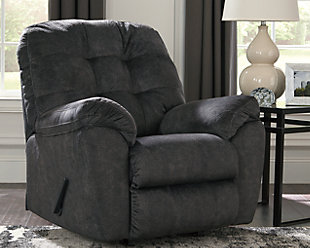 Accrington Recliner, Granite, rollover