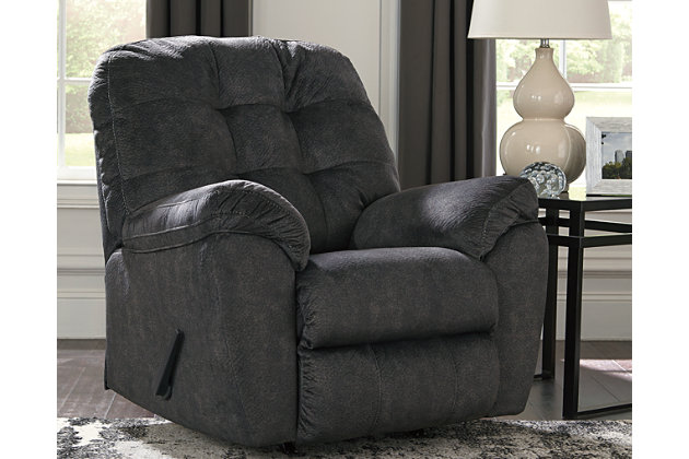Accrington Recliner, Granite, large