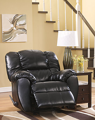 Dylan Recliner, Onyx, large
