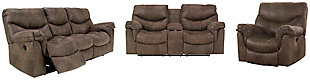 Alzena Sofa, Loveseat and Recliner, , large