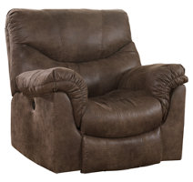 Alzena Power Reclining Loveseat With Console Ashley
