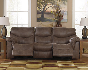 Alzena Power Reclining Sofa, , rollover