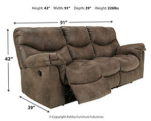 Alzena Reclining Sofa, , large