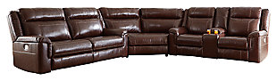 Wyline 3-Piece Power Reclining Sectional, , large