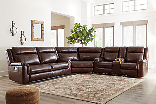 Wyline 3-Piece Reclining Sectional with Power, , rollover