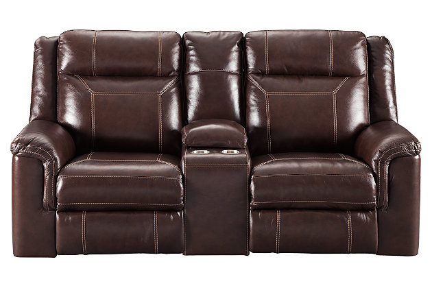 Wyline Power Reclining Loveseat with Console, , large
