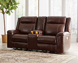 Large Wyline Reclining Loveseat With Console Rollover