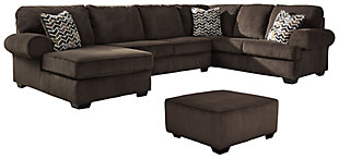Jinllingsly 3-Piece Sectional with Ottoman, , large