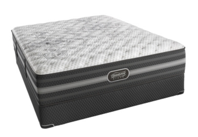 Calista Extra Firm Queen Mattress Black Product Photo