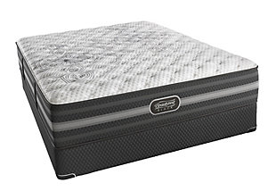 Beautyrest Black Beautyrest Black Calista Extra Firm Queen Mattress, Black/Gray, rollover