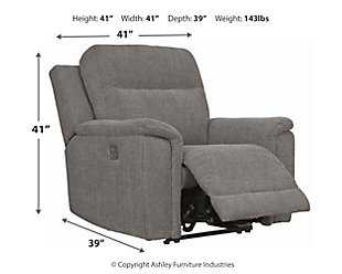 Mouttrie Power Recliner, , large