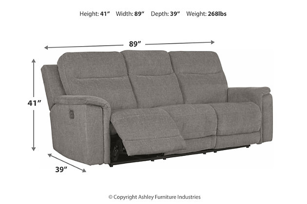 Mouttrie Power Reclining Sofa, , large