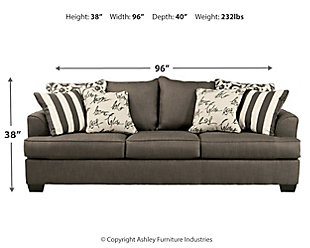 Levon Queen Sofa Sleeper, , large