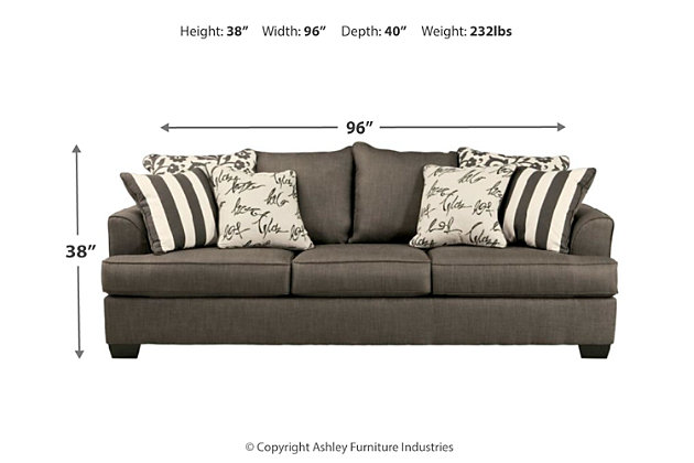 Levon Queen Sofa Sleeper | Ashley Furniture HomeStore